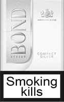Bond Compact Silver Cigarette Pack