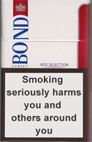 Bond Street Smart Red 8 Cigarette Pack
