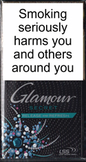 Glamour Secret Release and Refresh (Green) Cigarette Pack