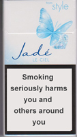 Style Jade Super Slims Ciel Cigarette Pack