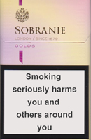 Sobranie KS SS Gold (mini) Cigarette Pack