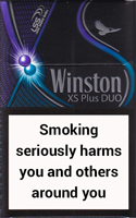 Winston XS Plus Duo Cigarette Pack