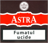 Astra Non Filter Cigarette Pack