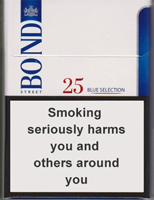Bond Street Blue Selection 25 Cigarette Pack