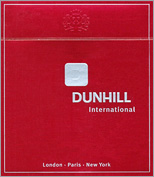 Dunhill International Cigarette Pack