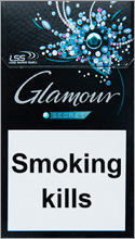 Glamour Secret Menthol Cigarette Pack