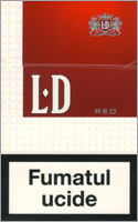 LD Red Cigarette Pack