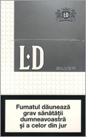 LD Silver Cigarette Pack