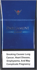 Parliament Carat Blue Cigarette Pack
