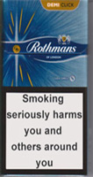 Rothmans Demi Click Amber Cigarette Pack
