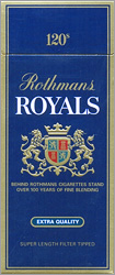 Rothmans Royals 120 Cigarette Pack