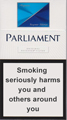 Parliament Super Slims Aqua Cigarettes pack