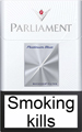 Parliament Platinum Blue Cigarettes pack