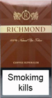 Richmond coffee Cigarettes pack