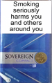 Sovereign Compact Silver Cigarettes pack