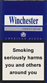 Winchester Compact Silver Cigarettes pack