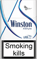 Winston XStyle Blue Cigarettes pack