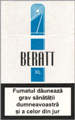 Beratt XL Cigarettes pack