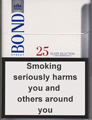 Bond Street Silver Selection 25 Cigarettes pack