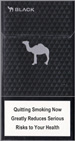 Camel Black Super Slims 100s Cigarettes pack