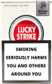 Lucky Strike Original Silver Cigarettes pack