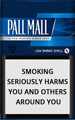 Pall Mall Blue (Lights) Cigarettes pack
