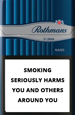 Rothmans Nano Silver Cigarettes pack