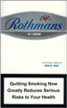 Rothmans Silver Cigarettes pack