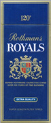 Rothmans Royals 120 Cigarettes pack