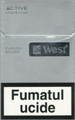 West Silver Fusion Cigarettes pack