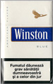 Winston Lights (Balanced Blue) Cigarettes pack
