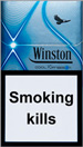 Winston XSpression Cool Cigarettes pack