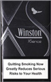 Winston XS silver Cigarettes pack