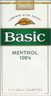 BASIC FULL FLAVOR MENTHOL SP 100